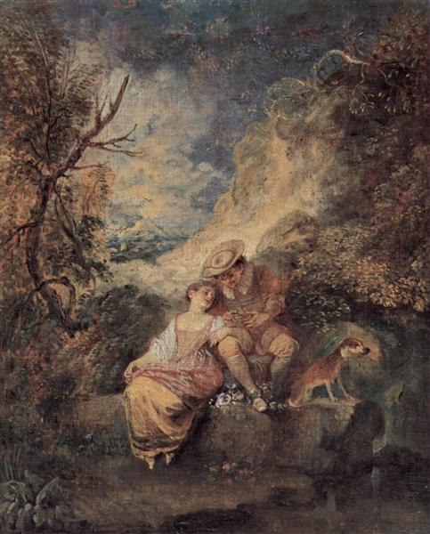 The Bird Nester, c.1710 - Antoine Watteau