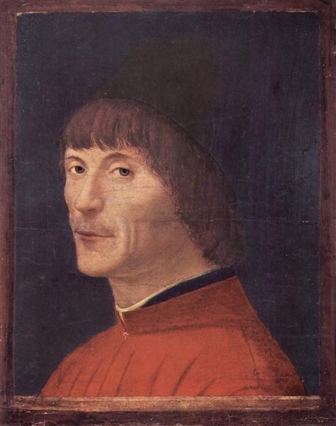 Portrait of a Man, c.1460 - Antonello da Messina