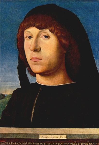 Portrait of a Young Man, 1478 - Antonello da Messina