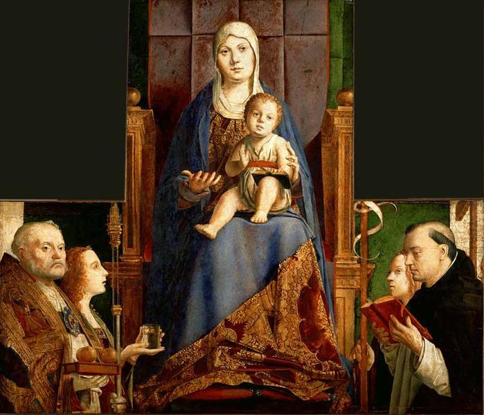 San Cassiano Altarpiece, 1475 - 1476 - Antonello da Messina