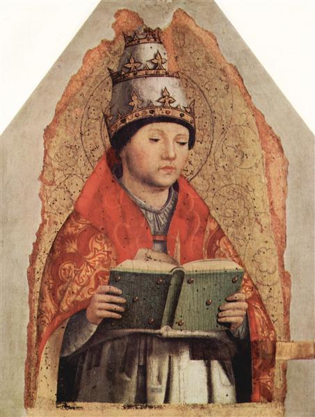 St. Gregory, c.1472 - Антонелло да Мессіна