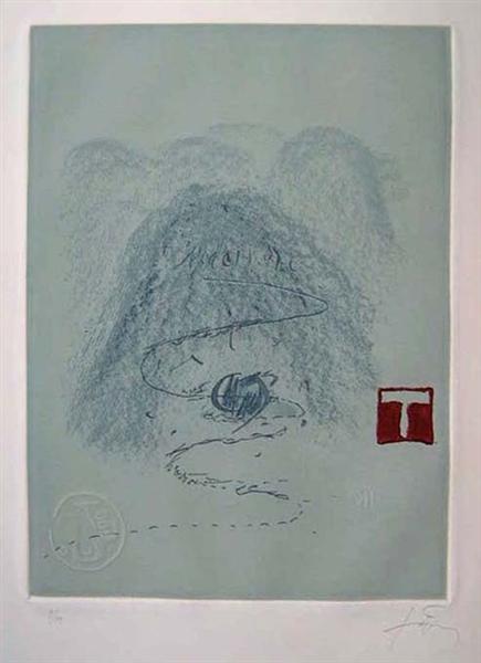 Aparicions 3, 1982 - Antoni Tapies