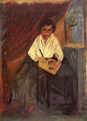 Ritratto di Mafai, 1928 - Antonietta Raphael