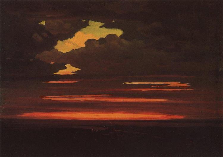 Clouds, c.1905 - Arkhip Kuindzhi