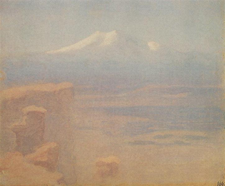 Elbrus, c.1900 - Arkhip Kuindzhi