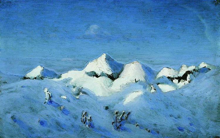 Winter - Arkhip Kuindzhi