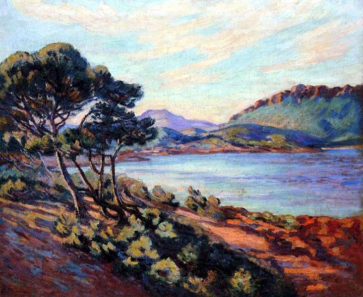 Agay Bay, 1910 - Armand Guillaumin