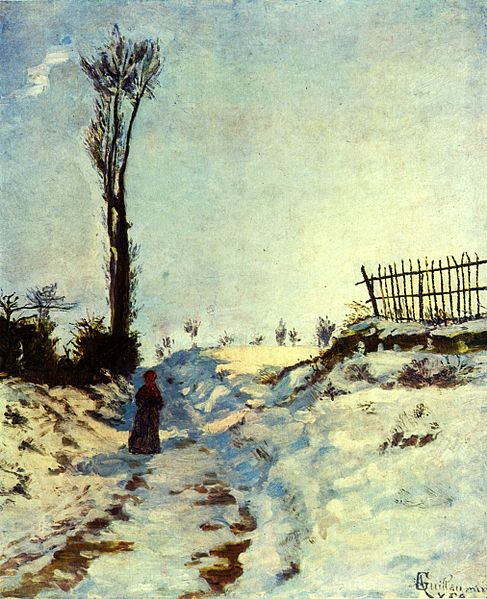 Hollow in the Snow, 1869 - Armand Guillaumin