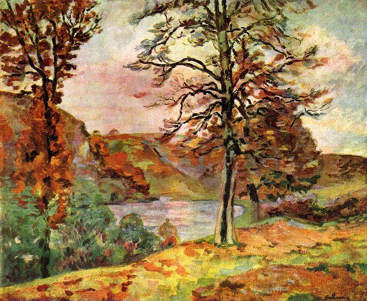 Landscape, 1870 - Armand Guillaumin