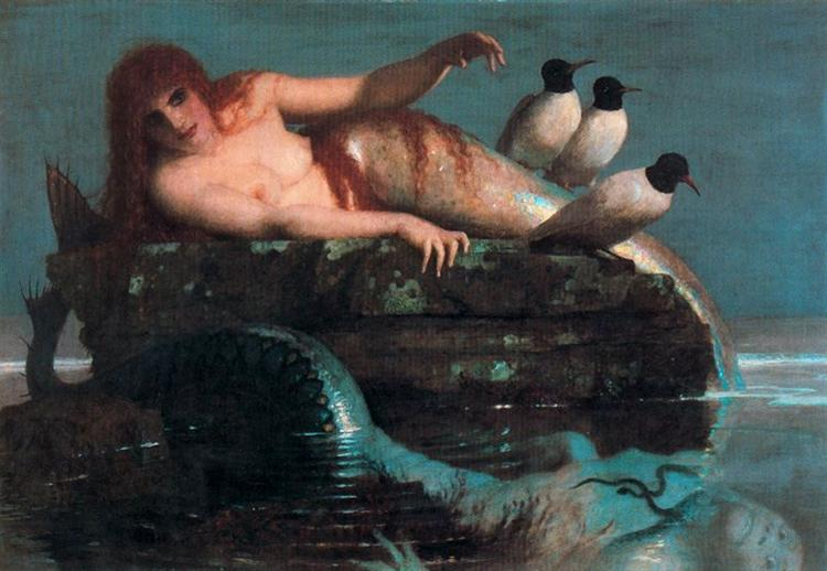 Meerestille (Calm Sea) - Arnold Böcklin