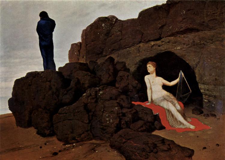 Odysseus und Kalypso - Arnold Böcklin