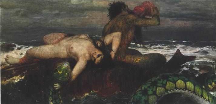 Triton and Nereid - Arnold Böcklin
