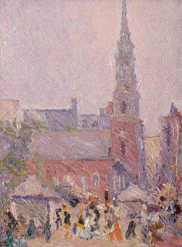 Park Street Church, 1924 - Arshile Gorky