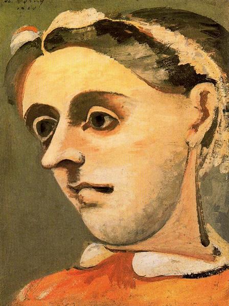 Portrait of Akabi, c.1936 - Arshile Gorky