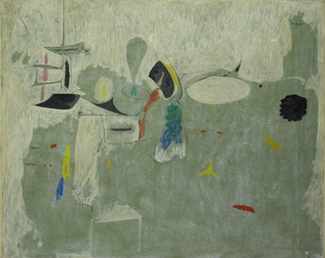 The Limit, 1947 - Arshile Gorky