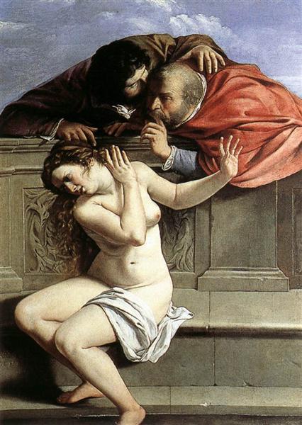 Susanna and the Elders, 1610 - Artemisia Gentileschi