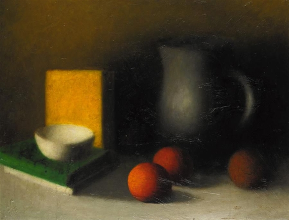 Still Life with Oranges, 1929 - Артур Сегал