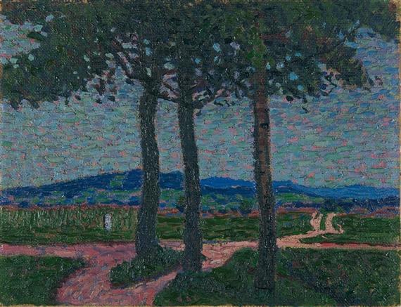 Weg nach Kynwasser (Riesengebirge), 1908 - Arthur Segal