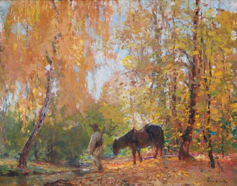 In the Forest, 1911 - Arthur Verona