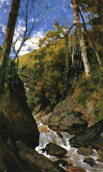 Cascada de Catuche, 1898 - Arturo Michelena