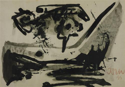 The Black Flight - Asger Jorn