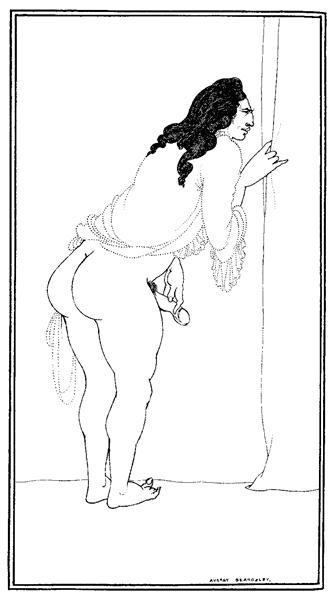 Adulterer, 1897 - Aubrey Beardsley