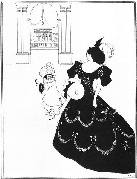 Ballet of Marionettes I, 1894 - Aubrey Beardsley