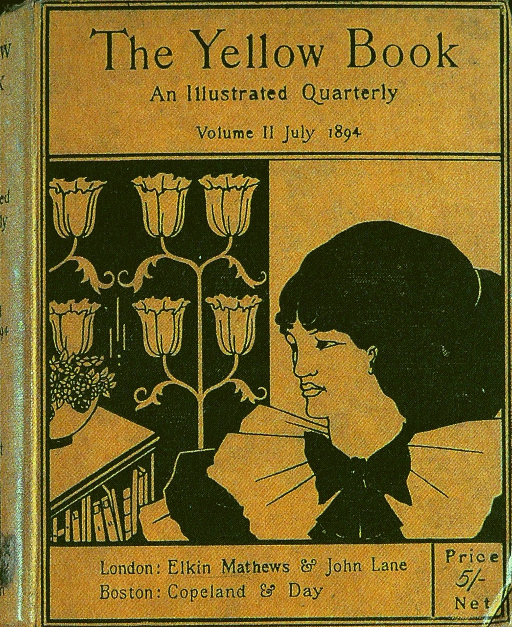 The cover of The Yellow BookAubrey Beardsley The Yellow Book