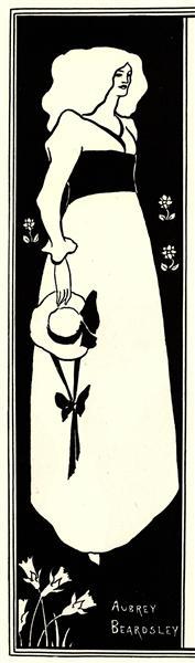 Yellow Book poster, 1894 - Aubrey Beardsley