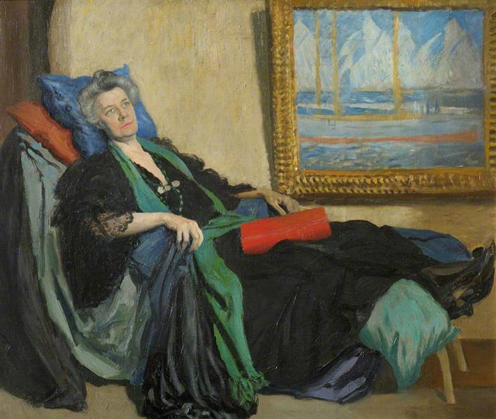 Jane Ellen Harrison, Newnham College - Augustus John