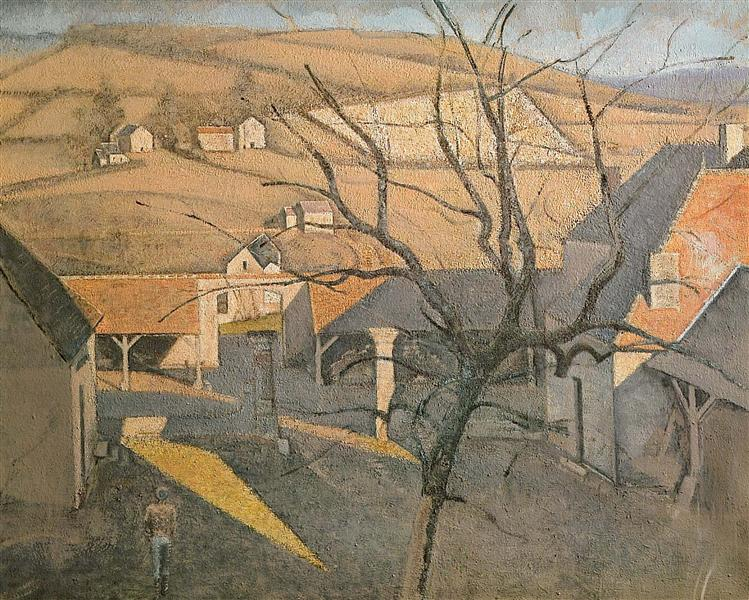 Large Landscape with a Tree, 1957 - Balthus