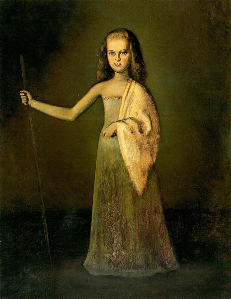 Princess Maria Volkonsky at the age of twelve, 1945 - Balthus