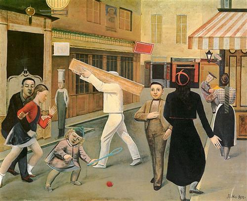 The street - Balthus