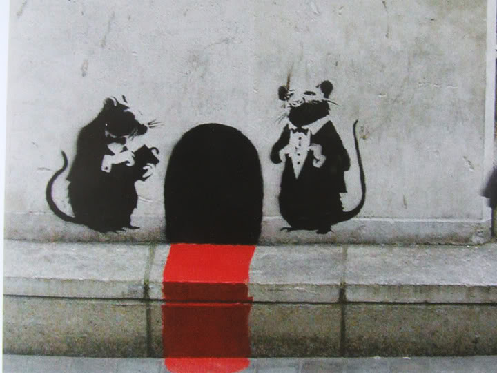 Red Carpet Dinner Service - Banksy