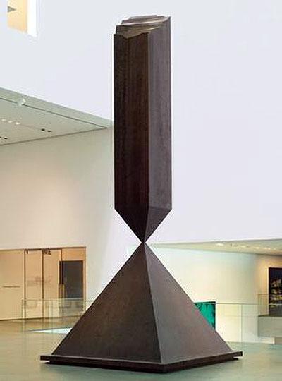 Broken Obelisk - Barnett Newman