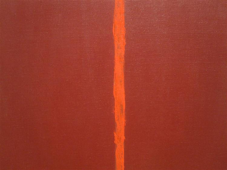 Onement, III, 1949 - Barnett Newman