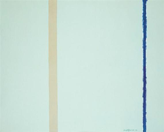 White Fire I, 1954 - Barnett Newman