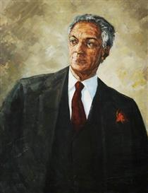 Sir Norman Washington Manley, Prime Minister of Jamaica - Barrington Watson