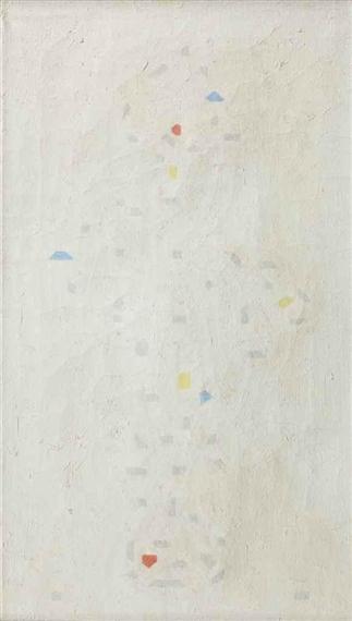 Aaronskelken; arums, 1929 - Bart van der Leck