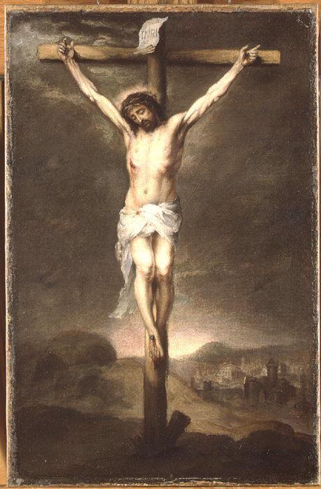 christ on the cross 1665 bartolome esteban murillo