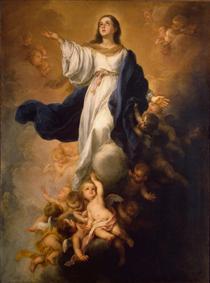 The Assumption of the Virgin - Bartolomé Esteban Murillo