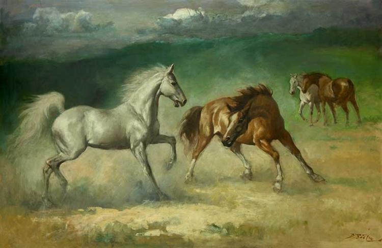 Horses - Basuki Abdullah