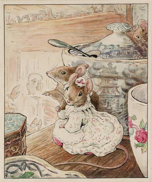 The Mice Listen to the Tailor's Lament, 1902 - Беатрис Поттер