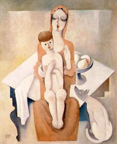 Mother and Child, 1930 - Bela Kadar