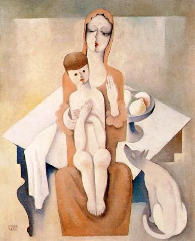 Mother and Child - Bela Kadar