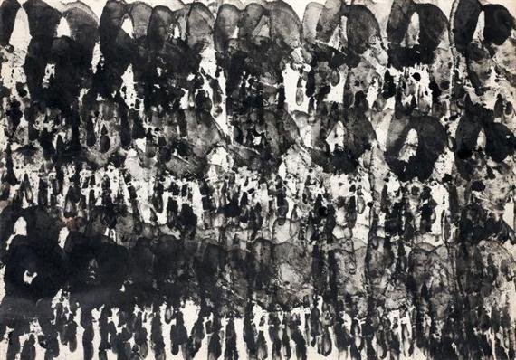 Empreintes de mains, 1961 - Bernard Aubertin