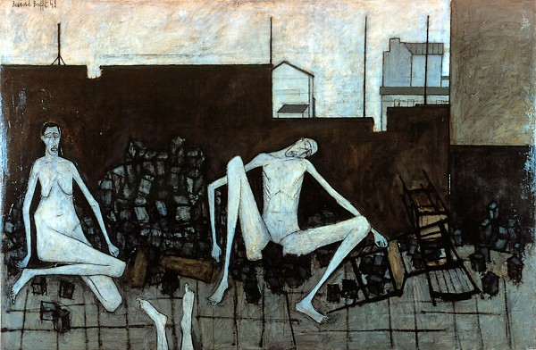 La barricade, 1949 - Bernard Buffet