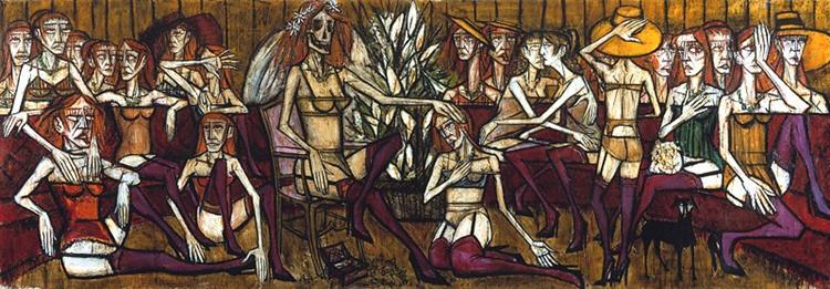 Les Folles: La mariée, 1970 - Bernard Buffet