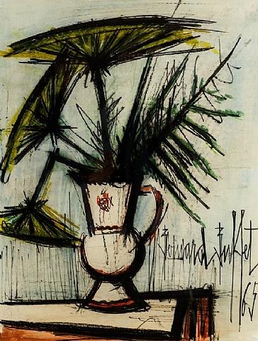 Ombelles dans un vase, 1965 - Bernard Buffet