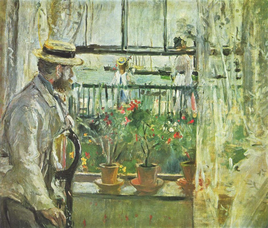 Art of the day berthe morisot the cradle for In their paintings the impressionists often focused on